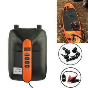 SUP Surf Paddle Board Kano opblaasbare boot auto hoge druk elektrische luchtpomp  specificatie: 782 Hoge druk Pomp + Batterij Map