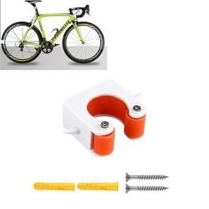 2 PCS Fiets Parkeren Gesp Kinderen Road Bike Mountainbike Eenvoudige Muur Mount  Stijl: Road Bike (Oranje)