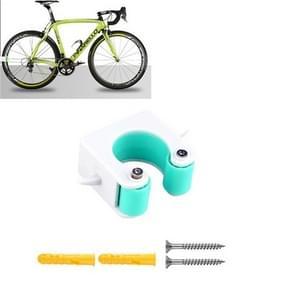 2 PCS Fiets Parkeren Gesp Kinderen Road Bike Mountainbike Eenvoudige Muur Mount  Stijl: Road Bike (Blauw)