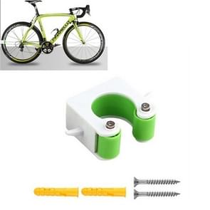 2 PCS Fiets Parkeren Gesp Kinderen Road Bike Mountainbike Eenvoudige Muur Mount  Stijl: Road Bike (Groen)