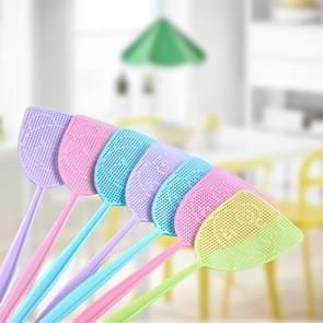 30 PCS Household Fly Swatter met uitgebreide handgreep plastic muggenmepper  willekeurige kleurlevering