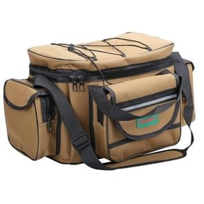 SeaKnight SK003 Multifunctionele Lure Bag Schouder Messenger Bag Vistuig Taille Tas (Dark Khaki)