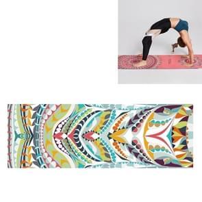 Draagbare gedrukte antislip milieubescherming Yoga Mat Laken  Grootte: 185 x 63cm (Practitioner)