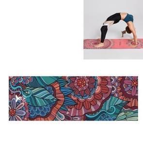 Draagbare gedrukte antislip milieubescherming Yoga Mat Laken  Grootte: 185 x 63cm (Mandoline)