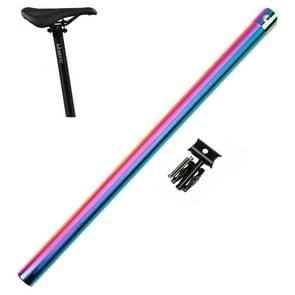 Litepro 412 opvouwbare fiets seatpost 33.9mm LP Plum Blossom seat tube  kleur: elektroplating kleurrijk