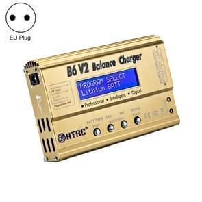 HTRC B6 V2 Model Airplane Charger Smart Balance Charger  EU Plug