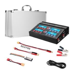 HTRC 4B6AC 80W Lithium Acculader Vierweg Smart Balance Charger  Amerikaanse stekker