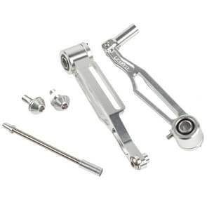 Litepro folding bike korte arm v rem lange arm CNC V remklauw wijziging  specificatie: lange arm  kleur: zilver