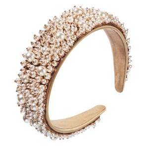 Hand genageld Pearl All-match Ladies Hair Band