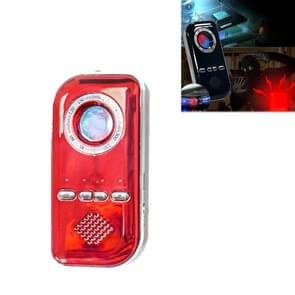 K300 Multifunctionele Infrarood Detector Ziguang Banknote Detector Hotel Anti-snooping Detection Travel Compass Anti-lost Device (Rood)