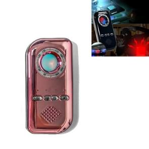 K300 Multifunctionele Infrarood Detector Ziguang Banknote Detector Hotel Anti-snooping Detection Travel Compass Anti-lost Device (Rose Gold)