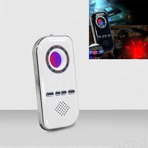 K300 Multifunctionele Infrarood Detector Ziguang Banknote Detector Hotel Anti-snooping Detection Travel Compass Anti-lost Device(White)