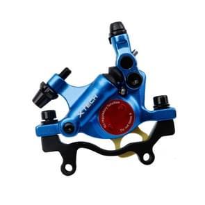 ZOOM HB100 Mountain Bike Hydraulische remklauwklapfietskabel trek hydraulische schijfremklauw  stijl:achterzijde(blauw)