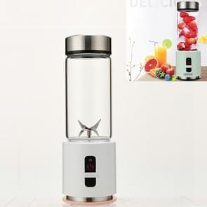 Mini Portable USB Oplaadbare Juicer Cup Electric Juicer Baby Food Supplement Machine (Elegant Wit)