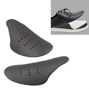 4 paar schoenen hoofd anti-rimpel Crease Sneaker Shield  Maat:S (35-39)(Zwart)