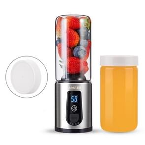AOKE Student Portable Juicer Household Fruit Mini Electric Juicer Cup  Style: Double Cup