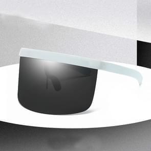 Large Frame Full Protection Outdoor Boy & Girl Zonnebrillen UV-proof Baby zonnebrillen  Frame kleur: White Frame Black&Gray