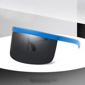 Large Frame Full Protection Outdoor Boy & Girl Zonnebrillen UV-proof Baby zonnebrillen  Frame kleur: Blue Frame Black&Gray
