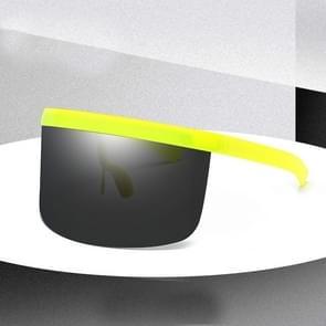 Large Frame Full Protection Outdoor Boy & Girl Zonnebrillen UV-proof Baby zonnebrillen  Frame kleur: Yellow Frame Black&Gray