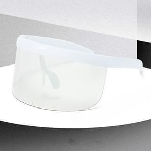 Large Frame Full Protection Outdoor Boy & Girl Zonnebrillen UV-proof Baby zonnebrillen  Frame kleur: White Frame Transparante Film