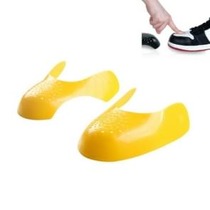 5 paar sneakers schoenschild schoenkop anti-vouw & anti-krakende shoe support shield(geel)