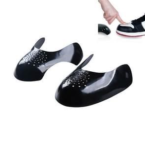 5 paar sneakers schoenschild schoenkop anti-vouw & anti-kraken shoe support shield(zwart)