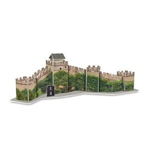 3 PCS 3D Puzzel Mini World Building Model Kinderen assembleren intellectuele speelgoed (De Grote Muur)