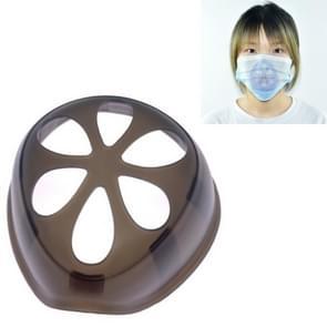 6 PCS Masker Anti-verstikking Anti-make-up Artefact Innerlijke Ondersteuning niet vasthouden aan de neus & mond wegwerpmasker Inner Pad (Zwart)