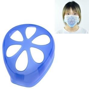 6 PCS Masker Anti-verstikking Anti-make-up Artefact Innerlijke Ondersteuning niet vasthouden aan de neus & mond wegwerpmasker Inner Pad (Blauw)