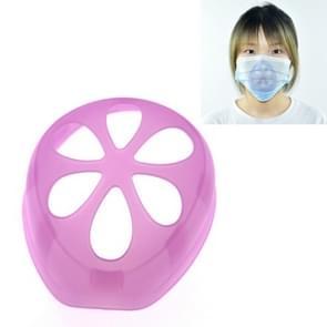 6 PCS Masker Anti-verstikking Anti-make-up Artefact Innerlijke Ondersteuning niet vasthouden aan de neus & mond wegwerpmasker Inner Pad (Paars)