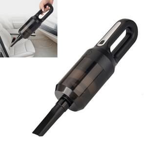 Auto draadloos high-power handheld stofzuiger Huisdier Grooming Stofzuiger (Zwart)