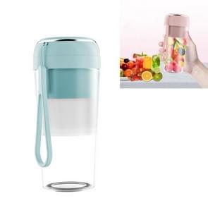 Elektrische kleine juicer Draagbare USB Home Mini Juice Cup  Stijl: Zonder Vacuüm Deksel (Lichtblauw)