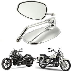 1 paren motorfiets elektrische auto accessoires Iron Rod Plating Spiegel Achteruitkijkspiegel