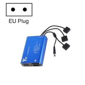 4 in 1 Parallel Power Hub Intelligent Battery Controller Charger voor DJI Phantom 3 Standard SE FPV Drone  Plug Type:EU Plug