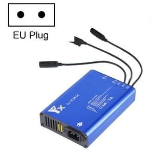 Voor DJI MAVIC Pro Aluminium Alloy 5 in 1 Hub Intelligent Battery Controller Charger  Plug Type:EU Plug