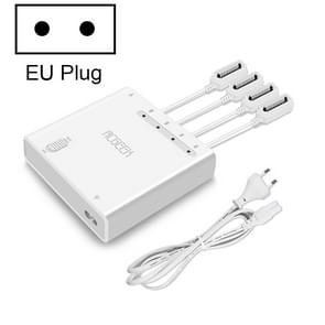 YX Voor DJI Mavic 2 OplaadHUB 6 in 1 Multi Smart Charger Remote Batteries Charger Smartphone Charge Station(EU Plug)