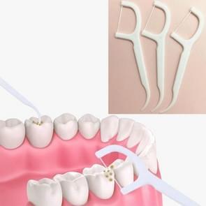 10 Box te bereiken Tand schoonmaken Fijne Lijn Dental Floss Tandenstokers Wegwerp Dental Floss Sticks
