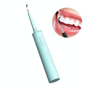 IPX6 Waterproof Portable Dental Calculus Remover Household Electric Tooth Cleaner (Groen)