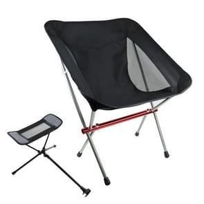 Outdoor Beach Chair aluminium legering Ultra lichte camping barbecue vissen draagbare klapstoel (klapstoel + telescopisch statief)