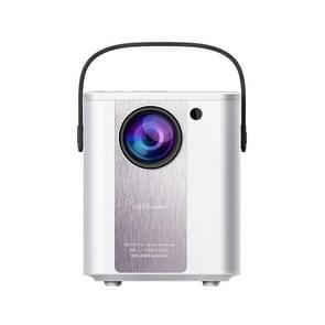 C500 Portable Mini LED Home HD-projector  Stijl:Dezelfde schermversie(Wit)