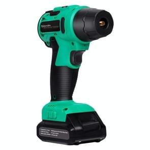 SUITU Hoge druk Handheld Smart Digital Display Auto Draagbare Draadloze Band Inflator (Groen)