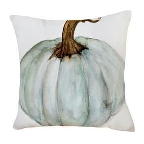 2 PCS Halloween Pumpkin Short Pluche Super Soft Pillowcase Decoratie zonder Pillow Core (Green Pumpkin)