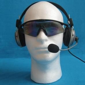 Styrofoam Mannequin Foam Male Head Model Dummy Wig Glasses Hat Display Stand