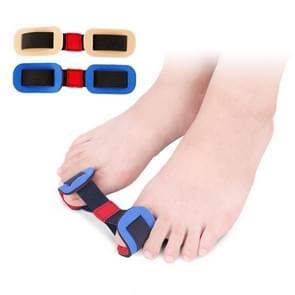 Professionele voet verzorging Tool Bunion Corrector bot grote teen Protector Hallux Valgus Straightener teen Spreader Pedicure (naakt kleur)