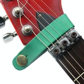 Leather Guitar Universal Head Strap(Green)