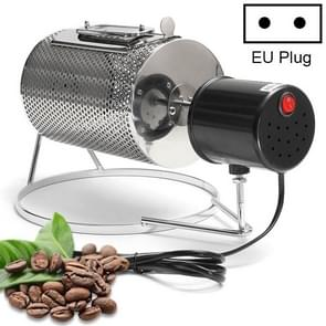 Electric Stainless Steel Glass Window Coffee Roaster Machine Household Barbecue Machine