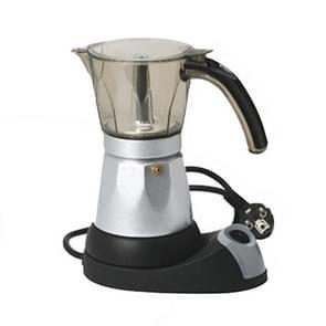 3 to 6 Cup Aluminium Alloy Electric Moka Coffee Pot Percolator EU Plug EU