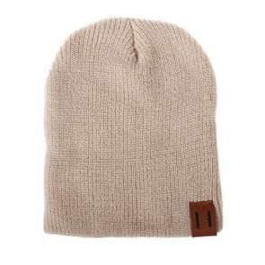 Winter Hat Baby Soft Warm Beanie Cap(Beige)