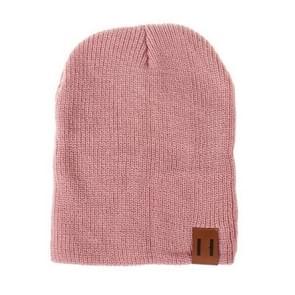 Winter Hat Baby Soft Warm Beanie Cap(pink)