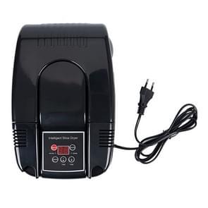 Intelligent Electric Shoes Dryer Sterilization Anion Ozone Sanitiser Telescopic Adjustable Deodorization Drying Machine(Black)